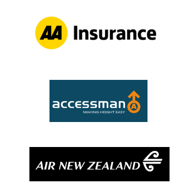 Businesses who trust JOYN for mobile - AA Insurance, Accessman, Air New Zealand